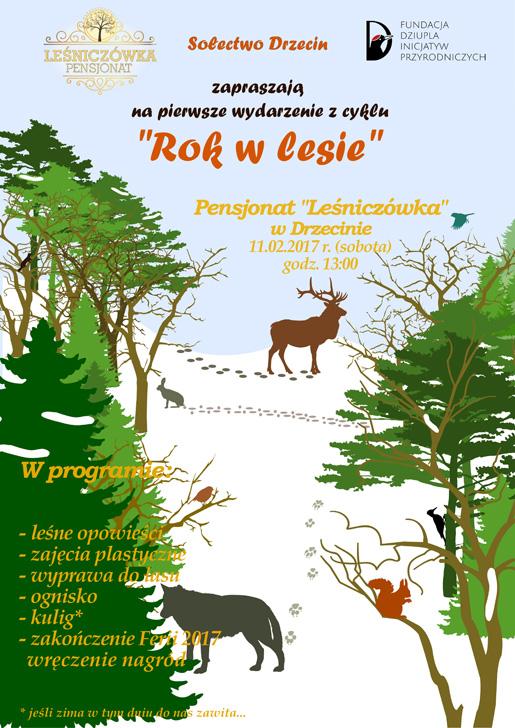 Słubice24pl Rok W Lesie Nowy Cykl Spotkań Z Przyrodą W Drzecinie