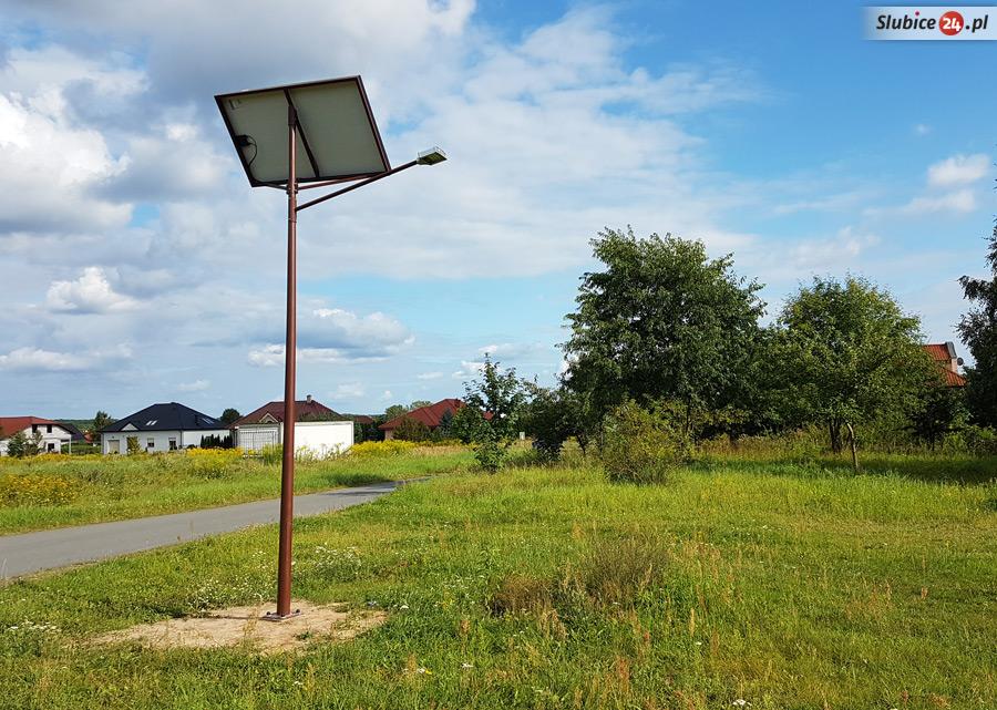 Słubice24.pl Gdzie staną nowe lampy solarne?