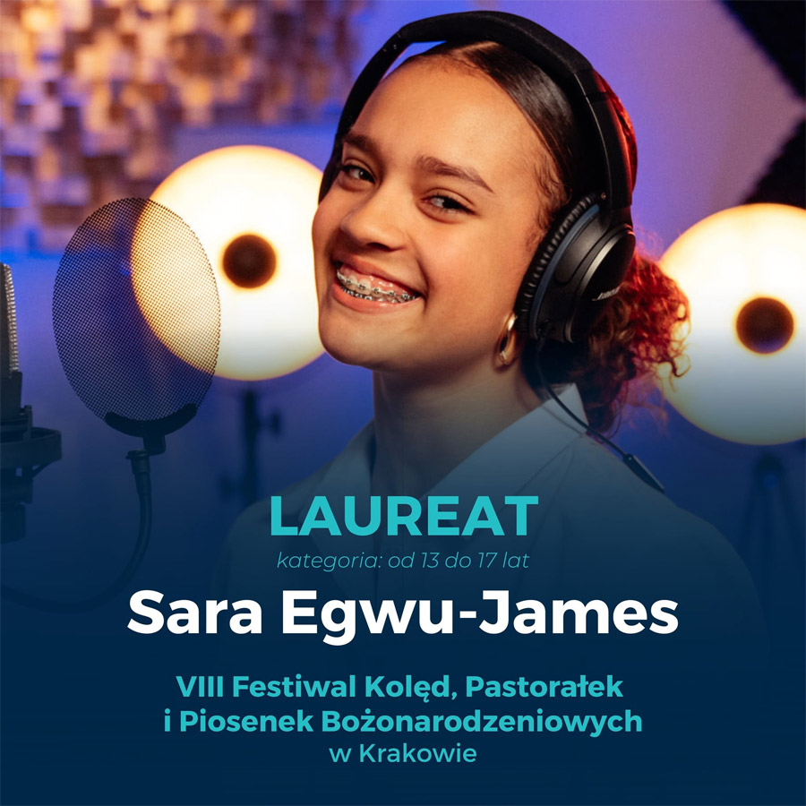 Słubice24.pl - Sara Egwu-James laureatką Festiwalu Kolęd w ...